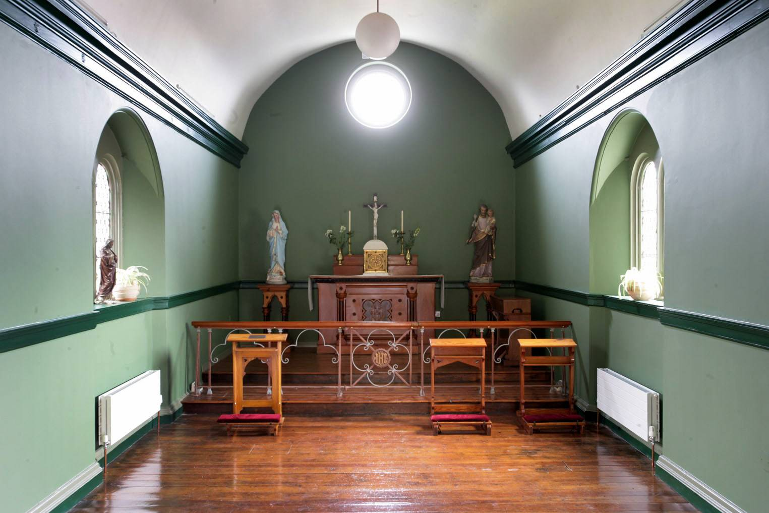 The chapel at St Enda's. ©National Monuments Service Dept of Arts, Heritage and the Gaeltacht.