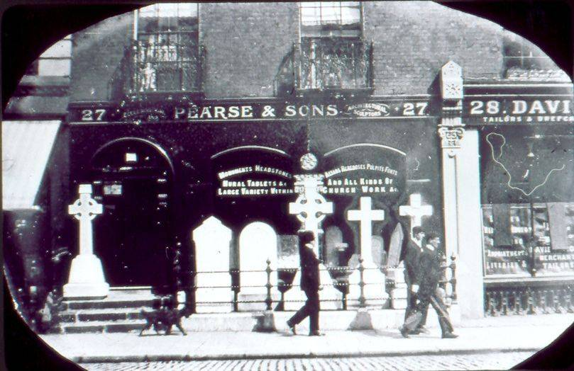 Pease and Sons, 27 Great Brunswick St (now Pearse St). OPW.